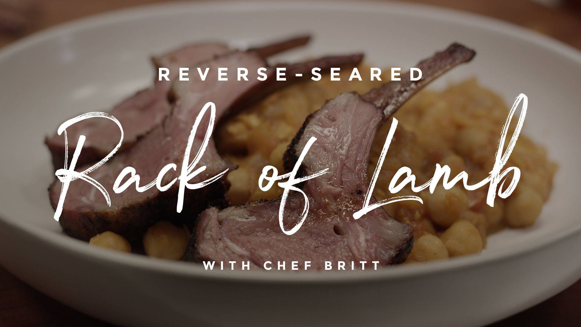 Reverse-Seared Rack of Lamb Recipe