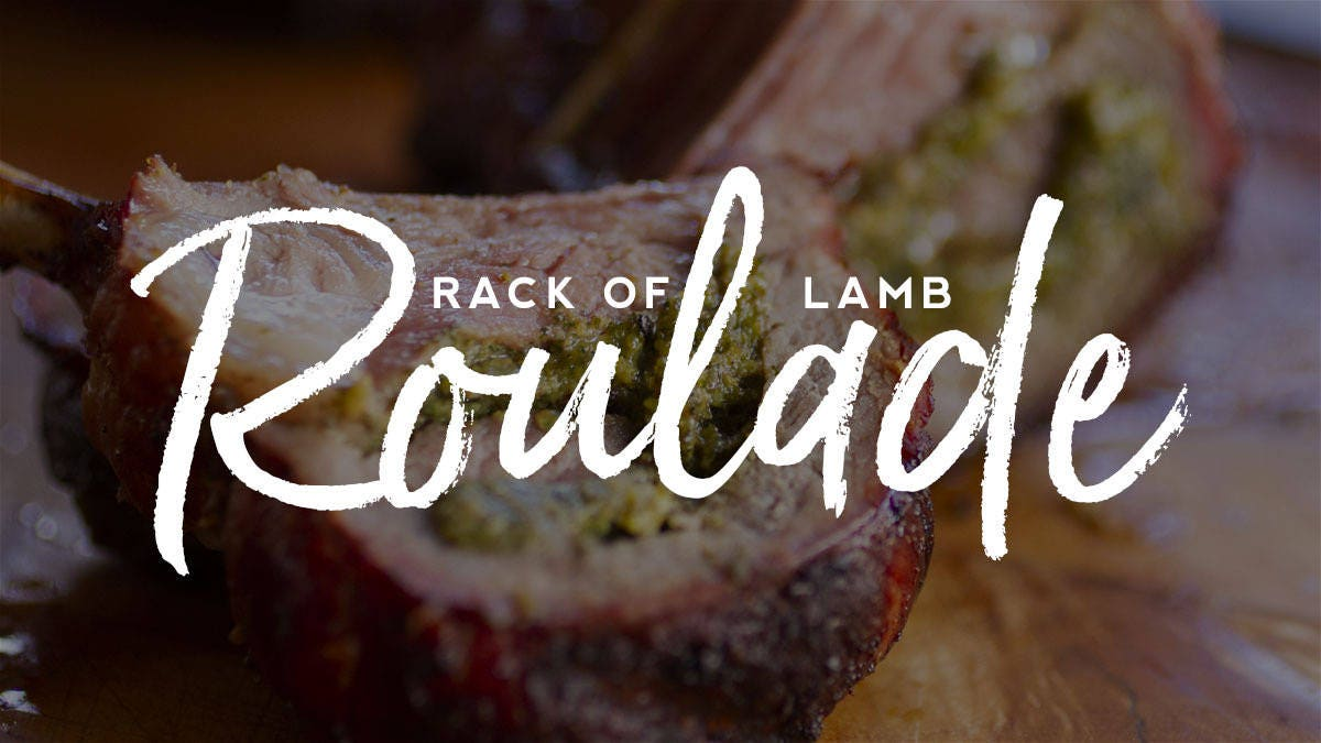 How to make Rack of Lamb Roulade