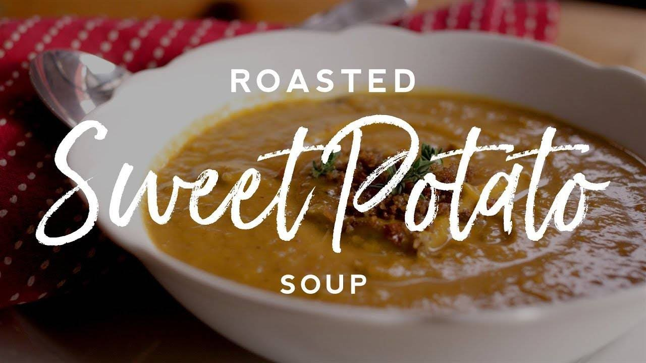 How to make Roasted Sweet Potato Soup