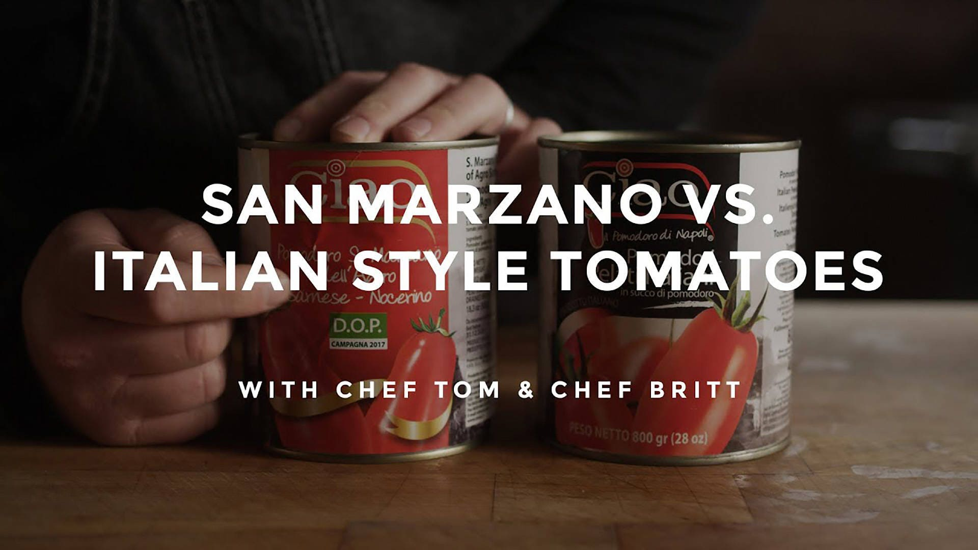 San Marzano vs. Italian Style Tomatoes