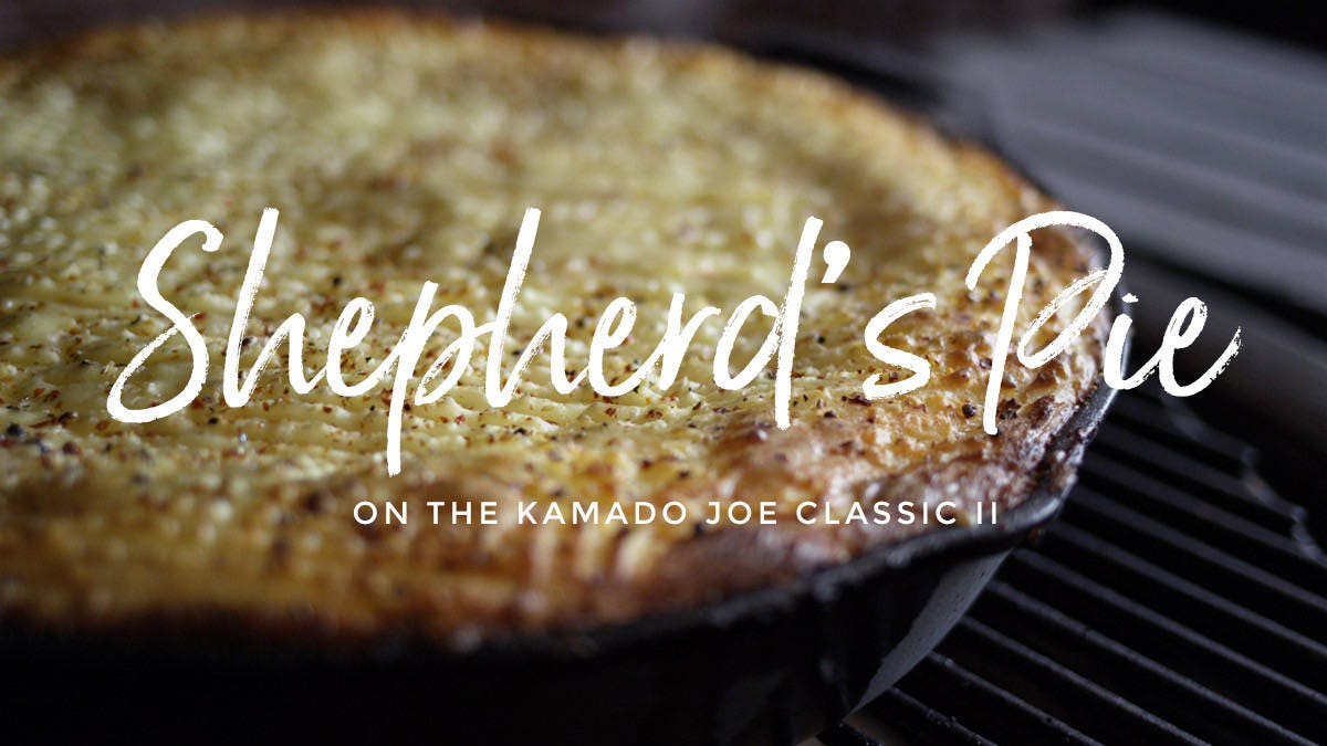 How to make Smoked Shepherd's Pie