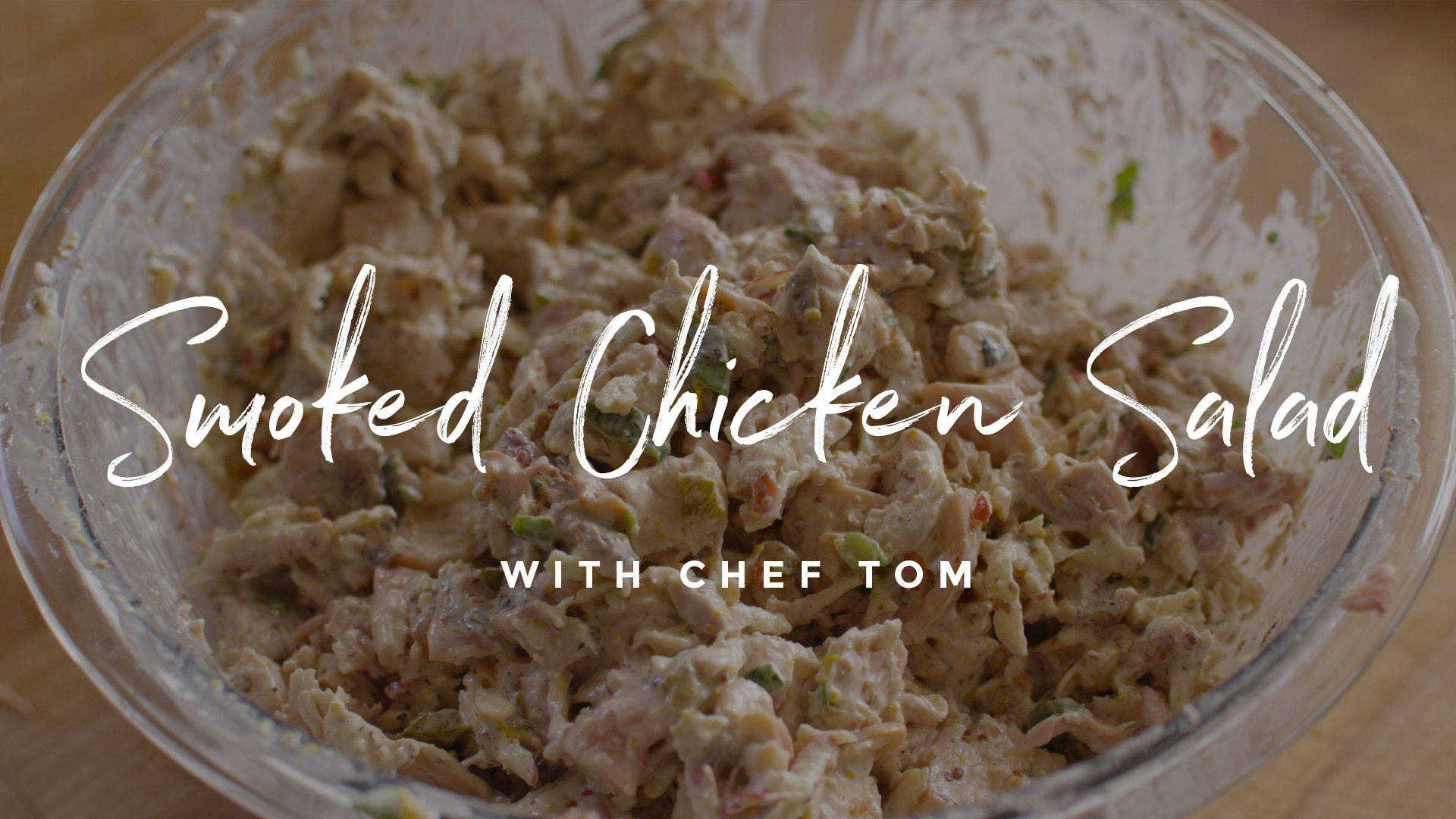 How to make Smoked Chicken Salad
