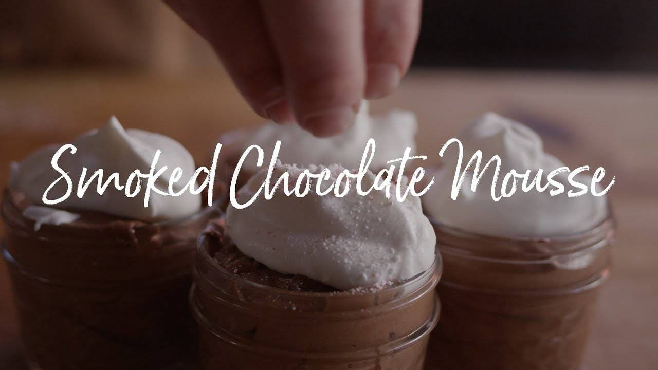 How to make Smoked Chocolate Mousse