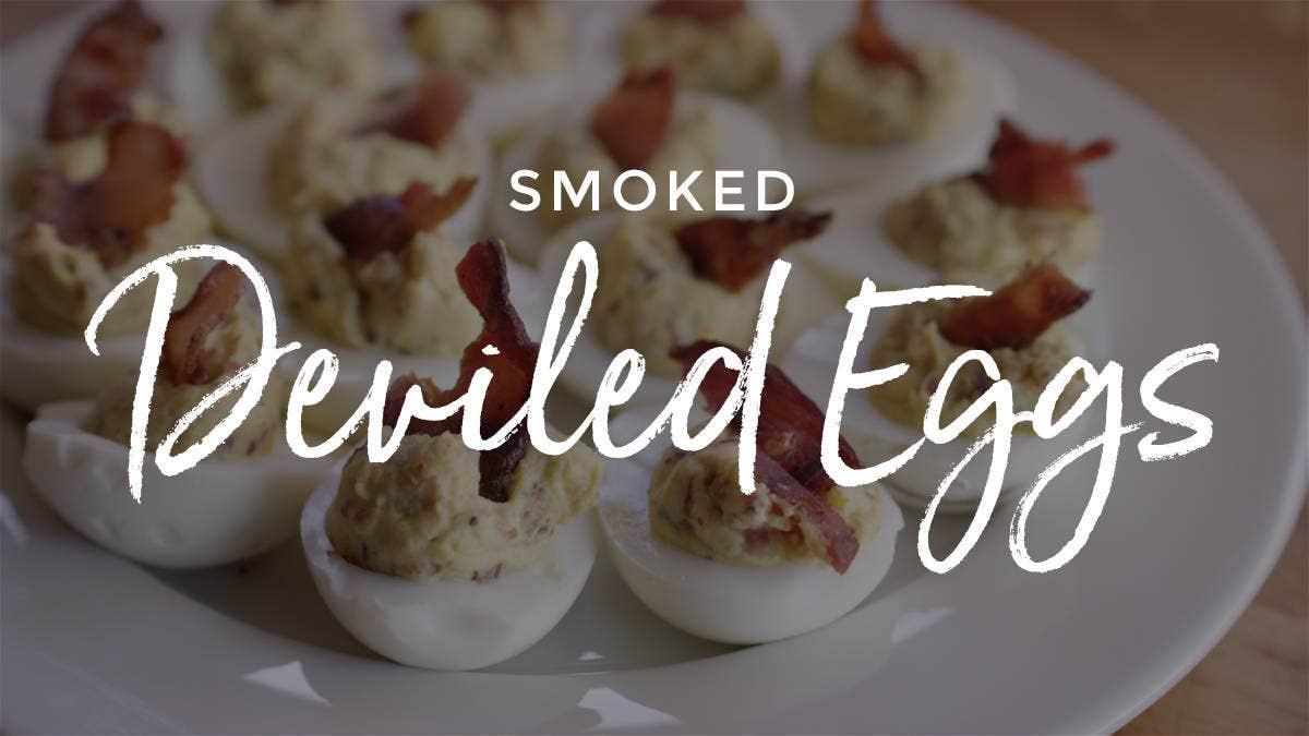 Smoked Deviled Eggs Recipe