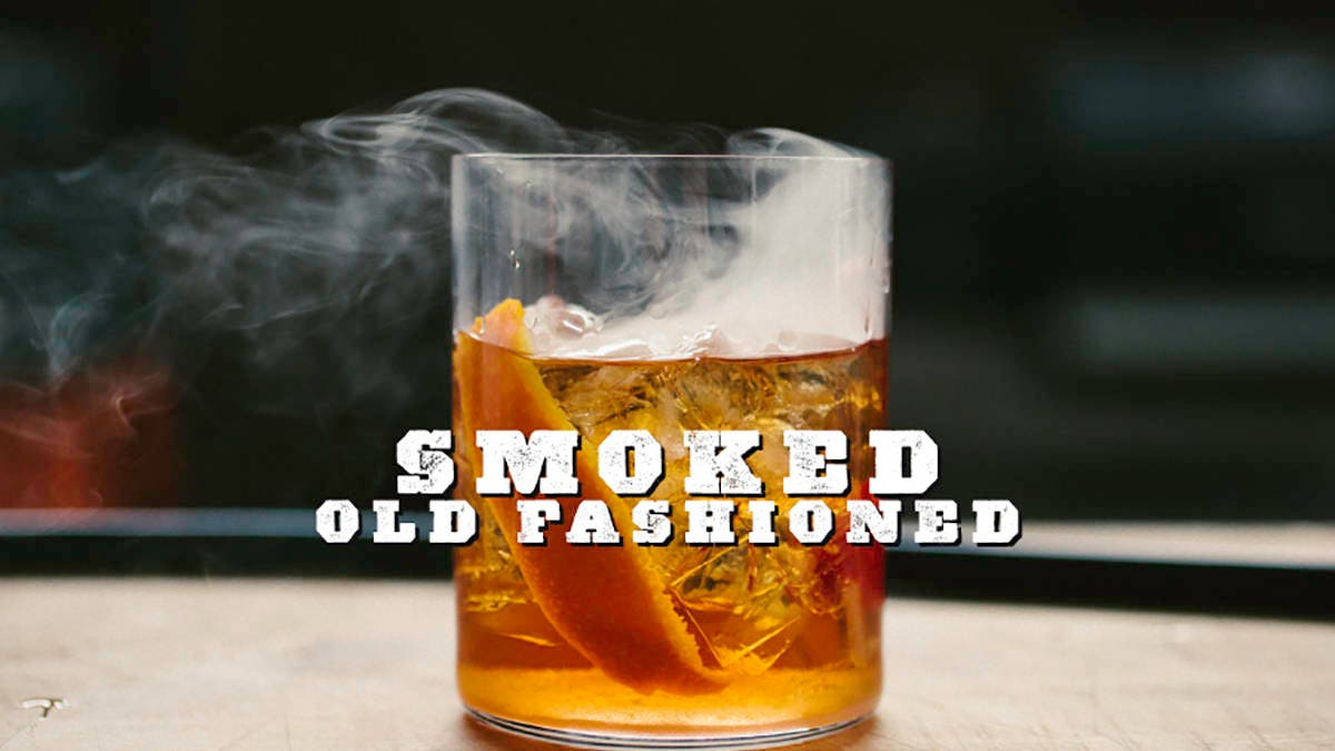Recipe for Smoked Old Fashioned