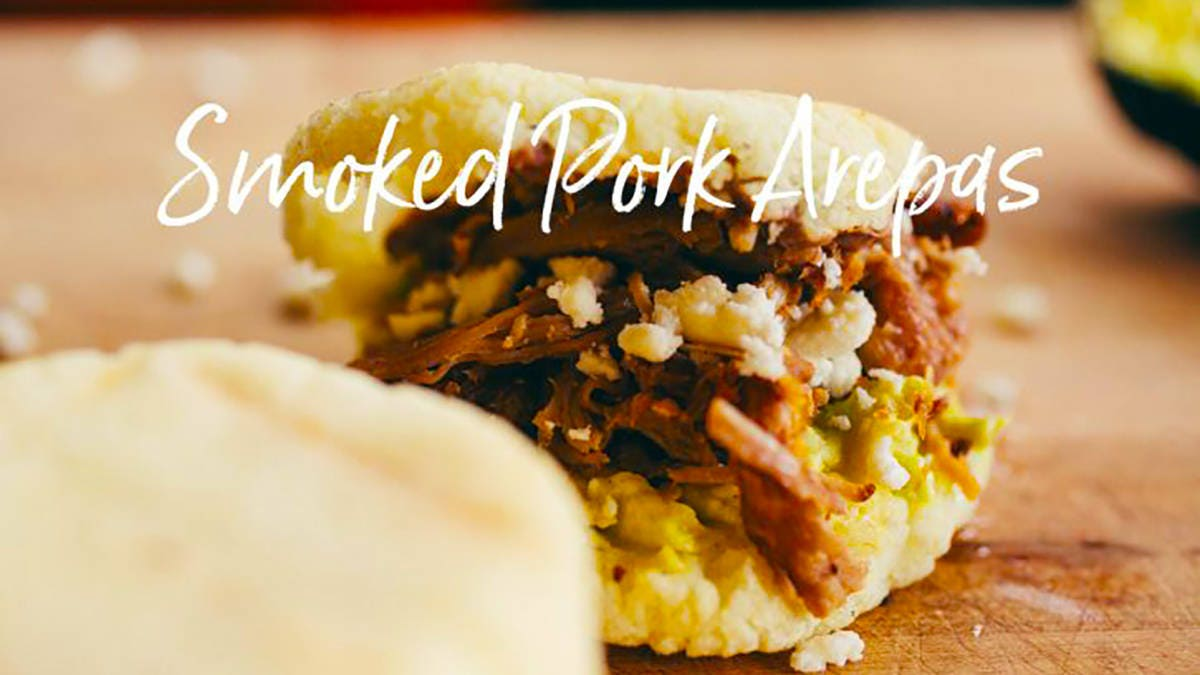 Smoked Pork Arepas Recipe