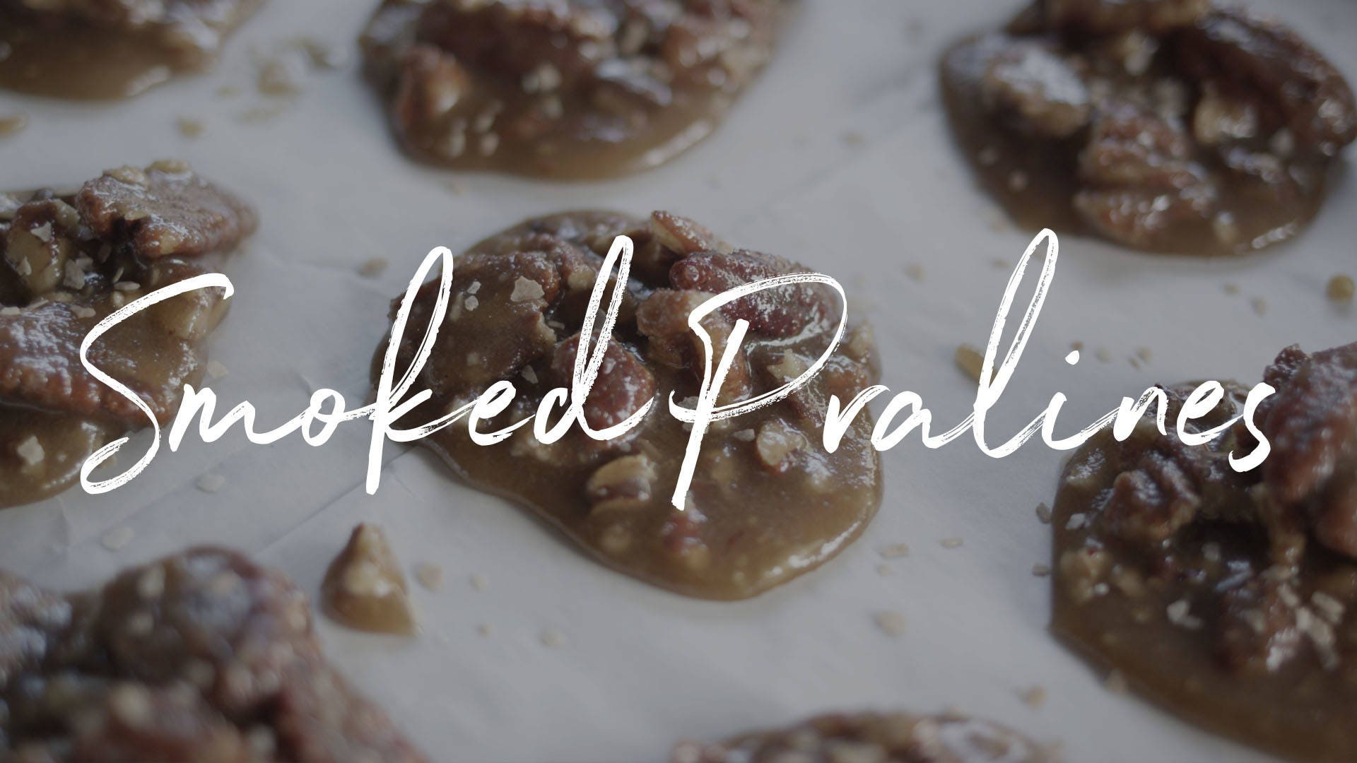 Smoked Pecan Pralines Recipe