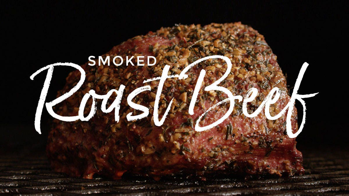 Smoked Roast Beef Sandwich Recipe