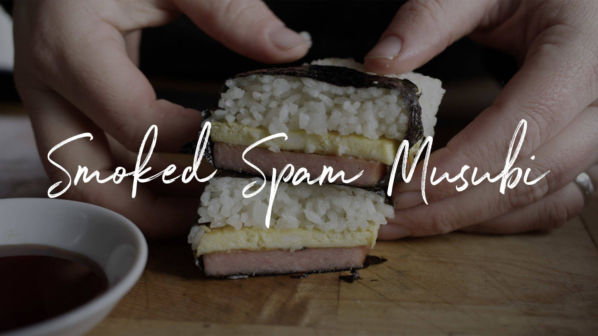 Smoked Spam Musubi Recipe