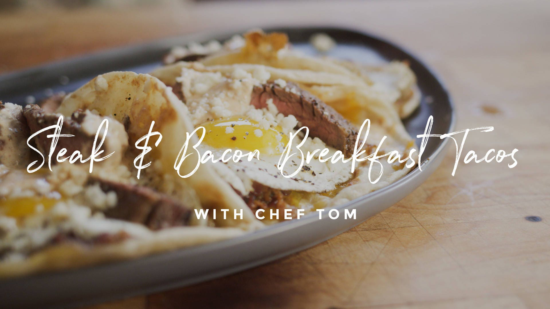 How to make Steak & Bacon Breakfast Tacos