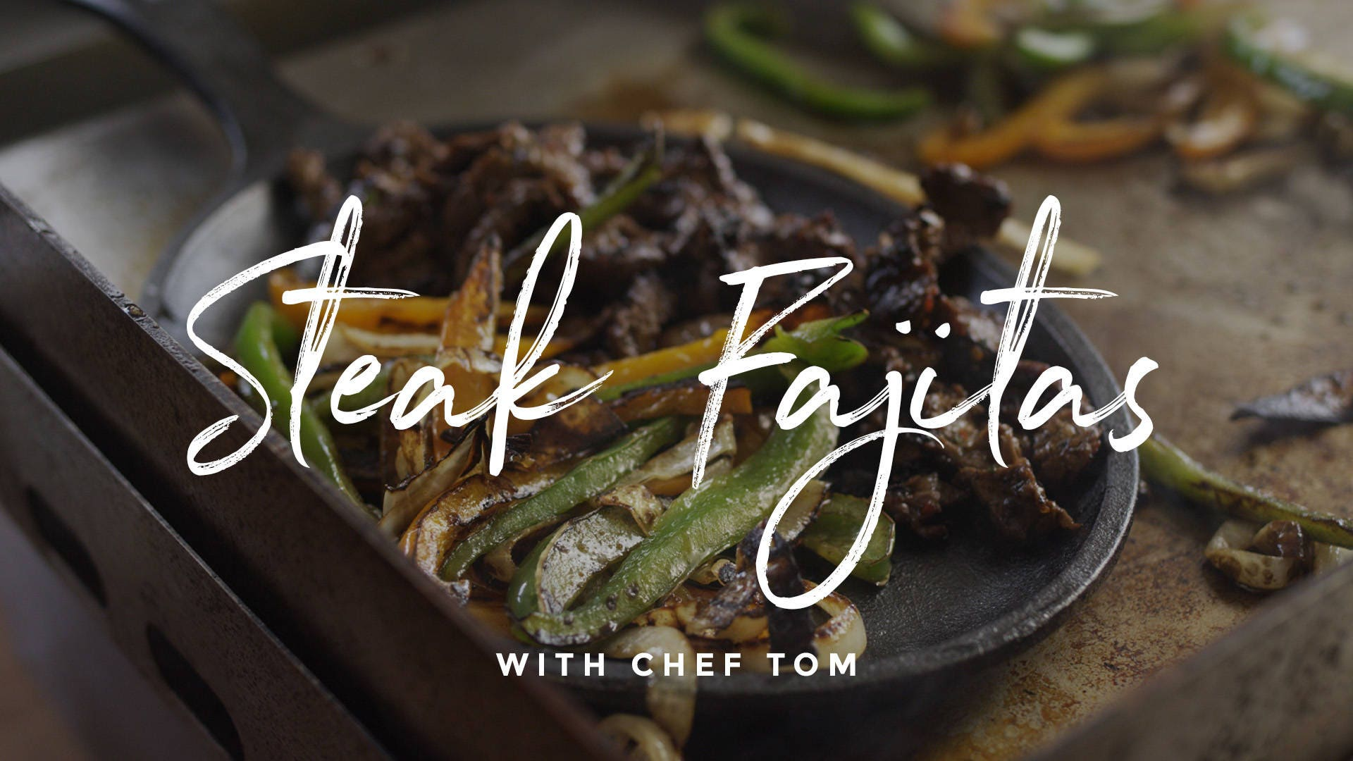 How to make Steak Fajitas Grill
