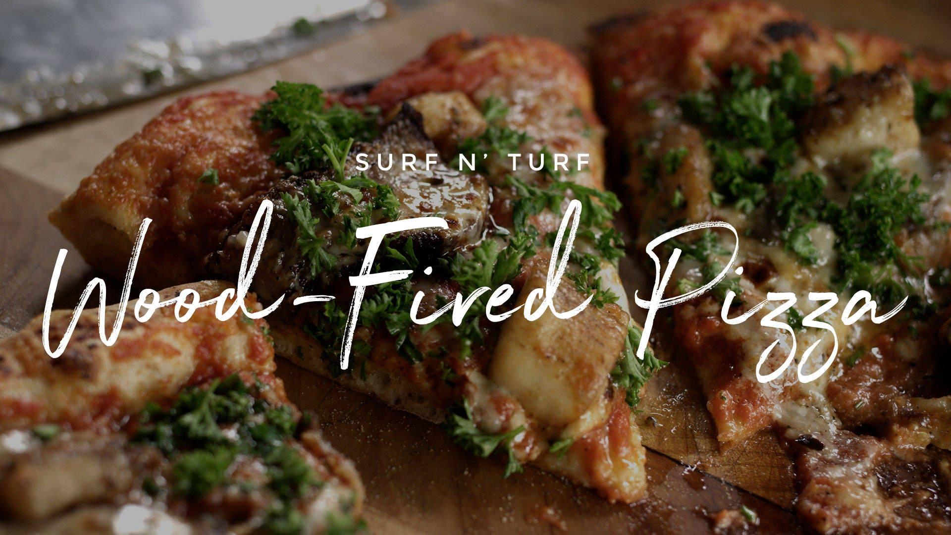 Surf n' Turf Pizza Recipe