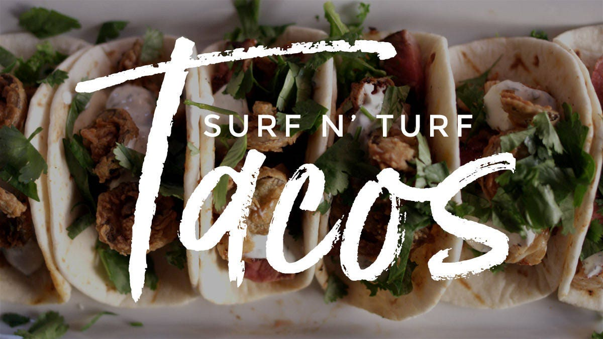 How to make Surf n' Turf Tacos