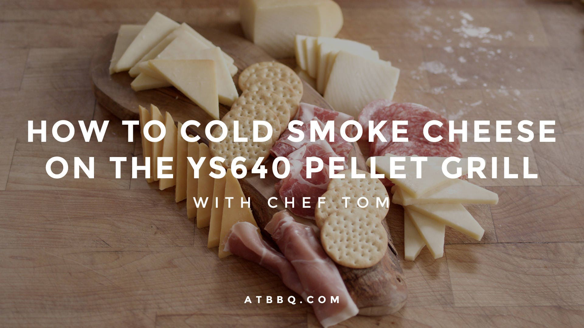 How to Cold Smoke Cheese on the YS640 Pellet Grill