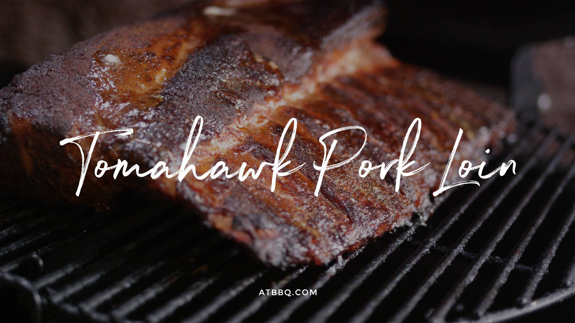 How to make Tomahawk Pork Loin