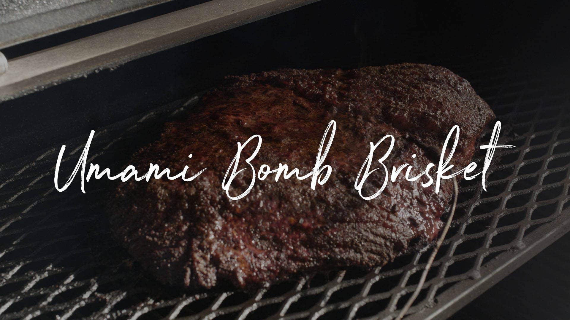 Umami Bomb Brisket Recipe