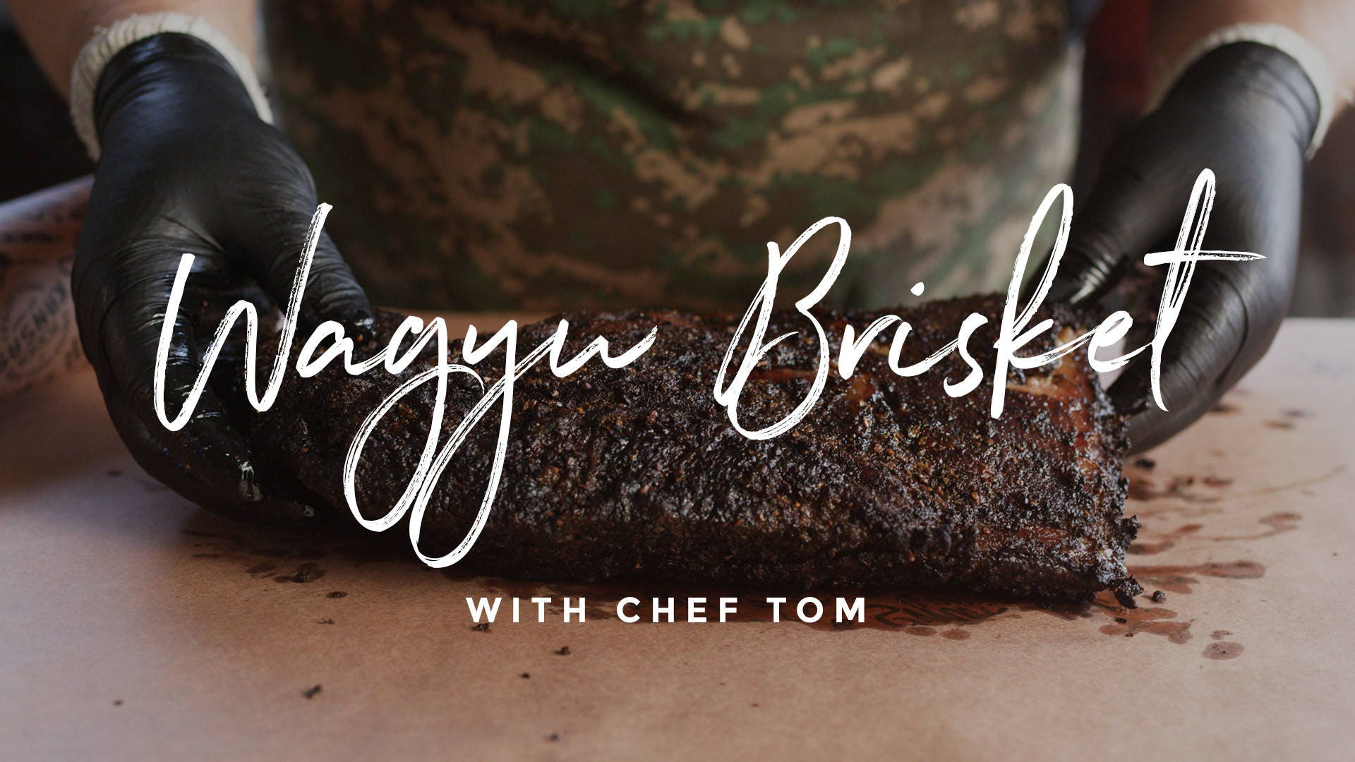 How to make Wagyu Brisket