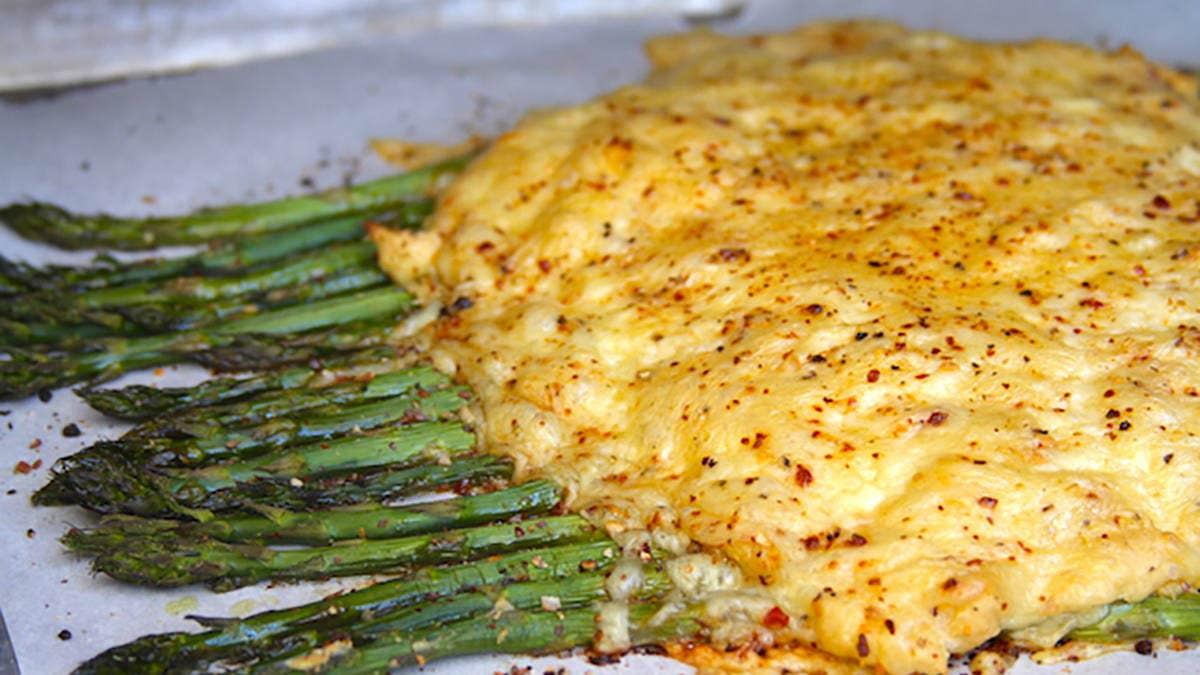 Asparagus and Aged Cheddar Bake Recipe