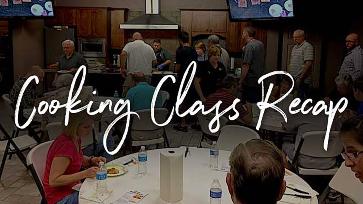 August Cooking Class Recap