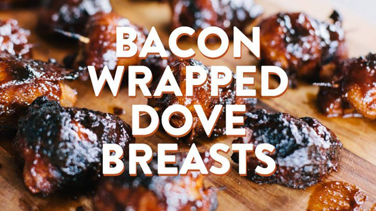 Recipe for Bacon Wrapped Dove Breasts
