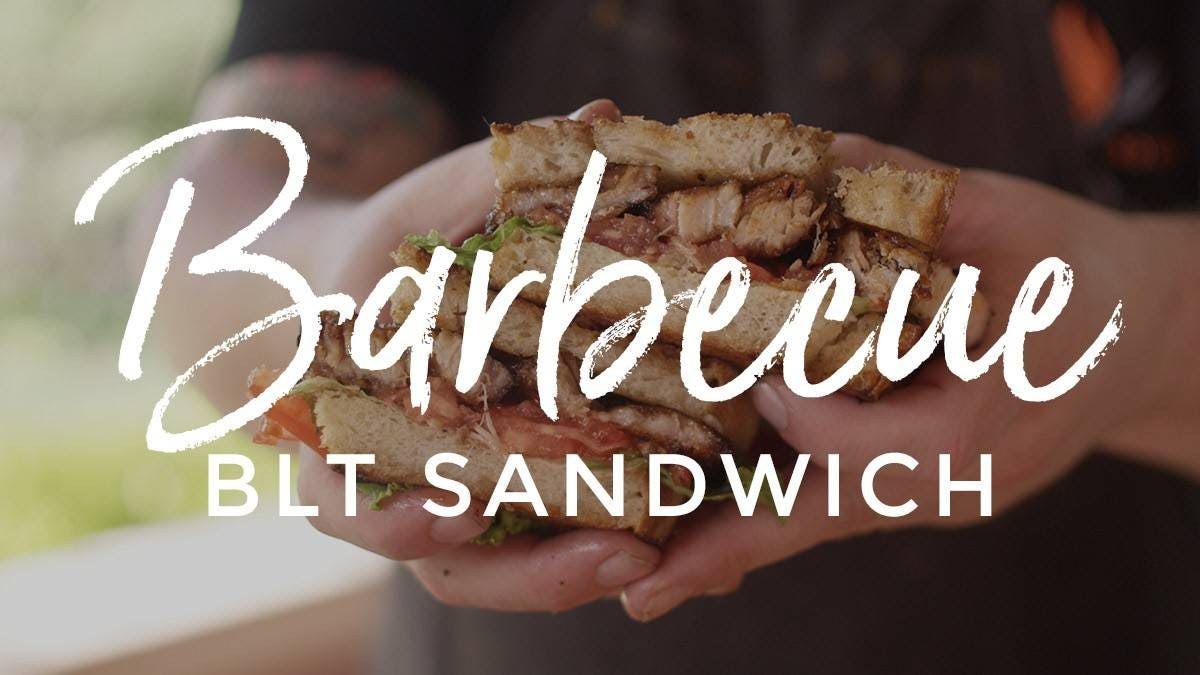 How to make Smoked Pork Belly BBQ BLT