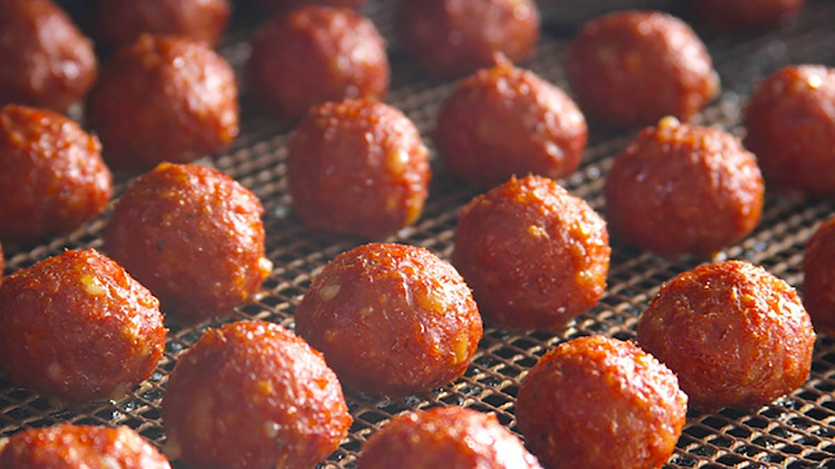 BBQ Smoked Meatballs Recipe