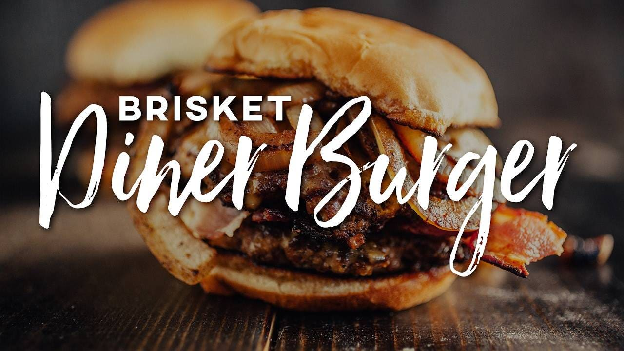How to make Brisket Diner Burger