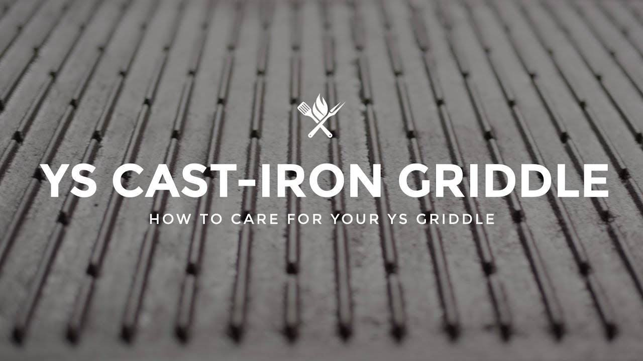 How to Care for the Yoder Smokers Cast Iron Griddle