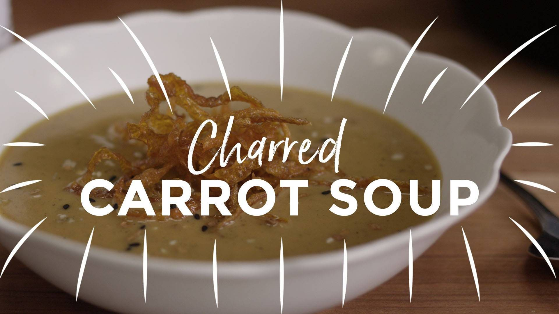 Charred Carrot Soup Recipe