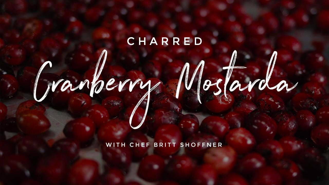 Charred Cranberry Mostarda Recipe