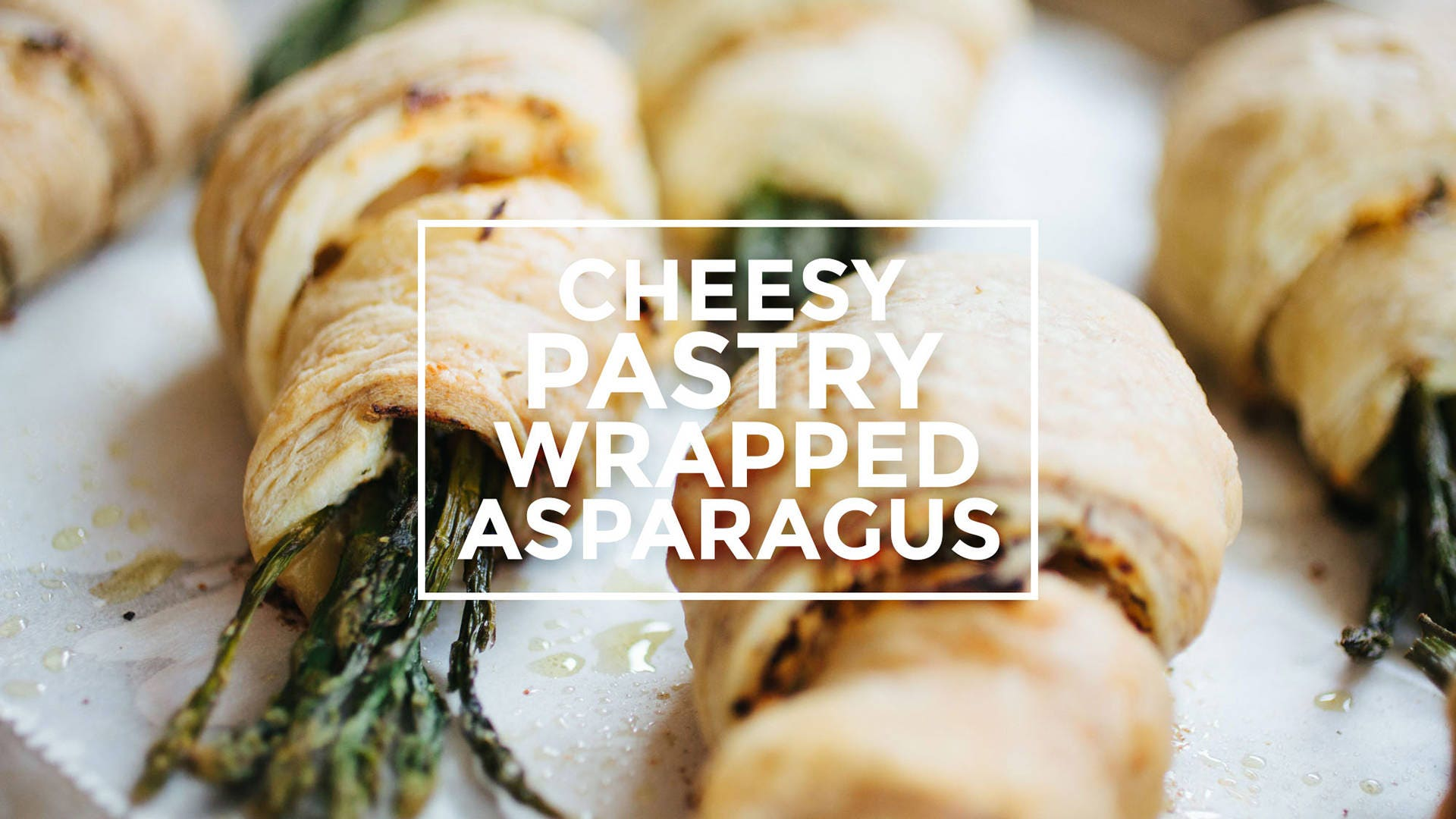 How to make Cheesy Pastry Wrapped Asparagus