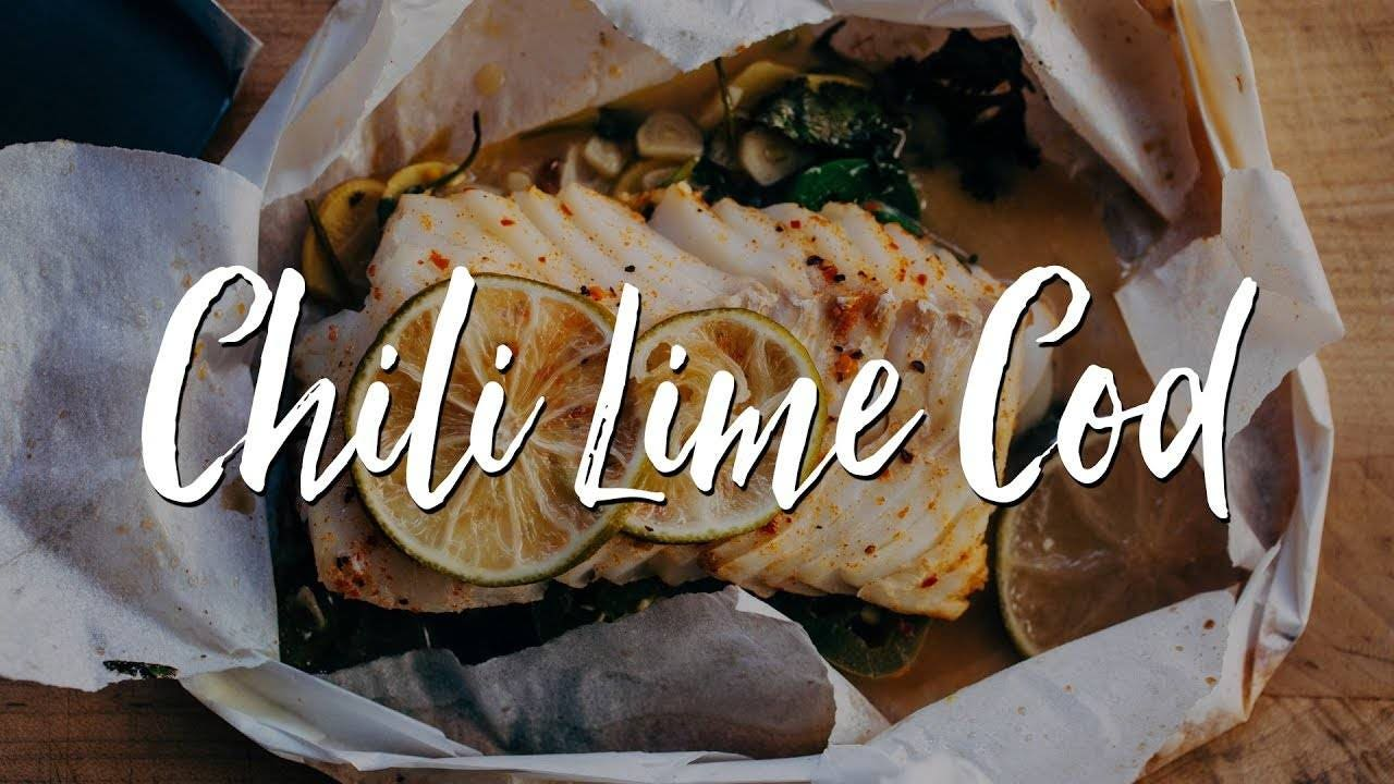 Chili Lime Cod En Papillote Recipe
