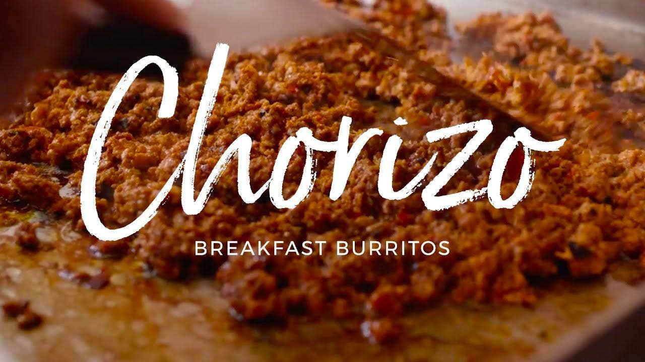 How to make Chorizo Breakfast Burrito