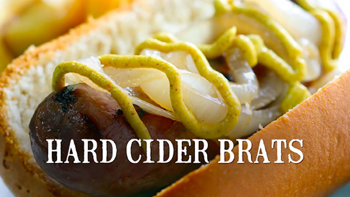 Recipe for Hard Cider Brats