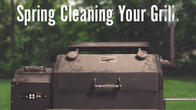 Cooker Maintenance - Spring Cleaning for Your Grill and Smoker