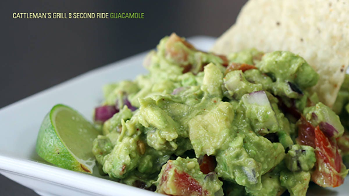 Cattleman's Grill 8 Second Ride Guacamole Recipe