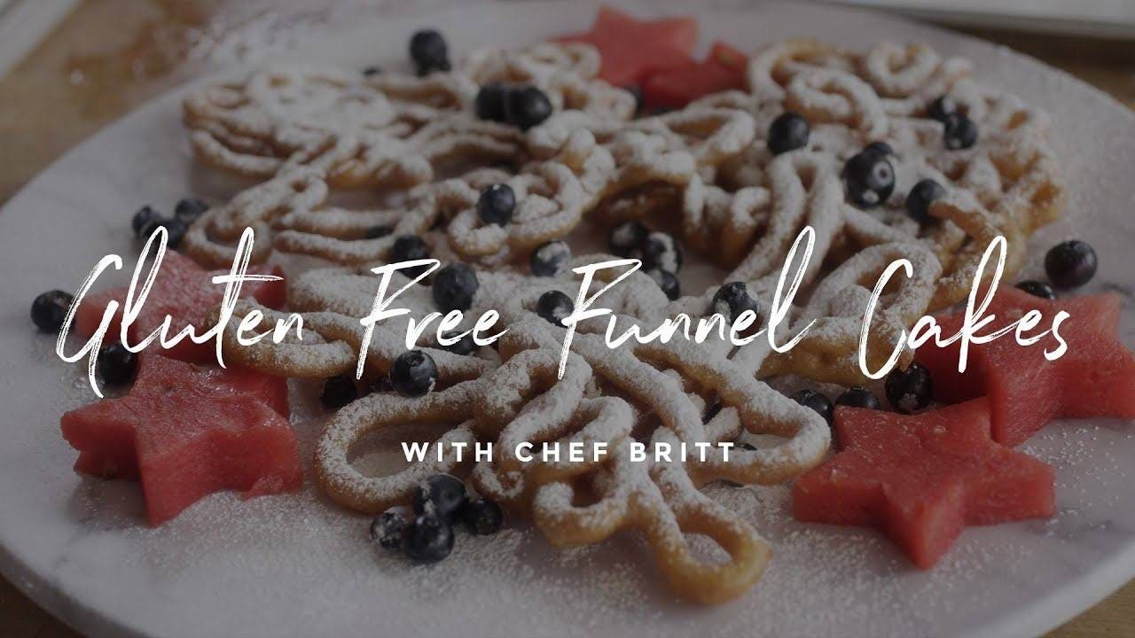 Gluten-Free Funnel Cake Recipe