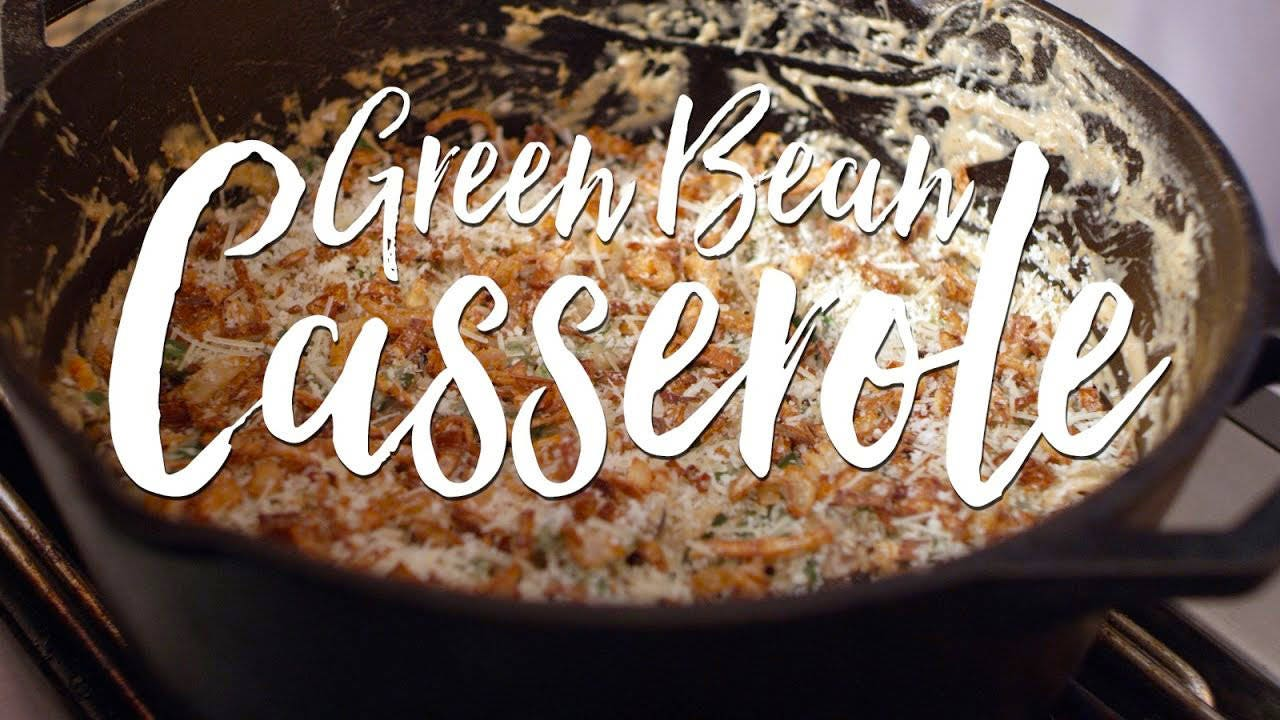 Thanksgiving Recipe for Green Bean Casserole