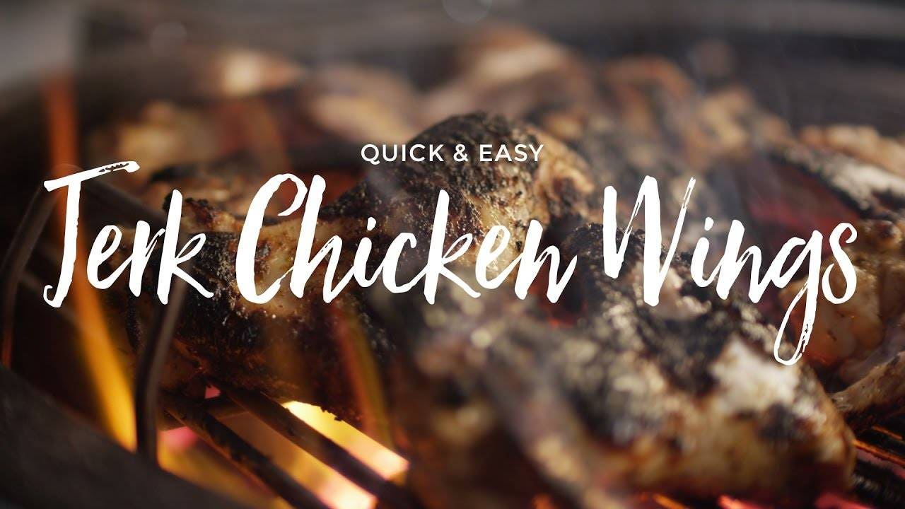 Quick & Easy Jerk Chicken Wings Recipe