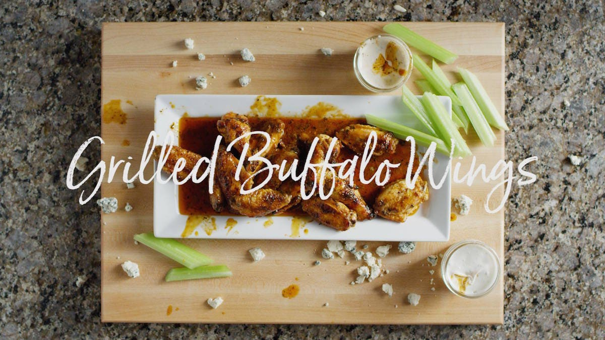 How to make Grilled Buffalo Wings
