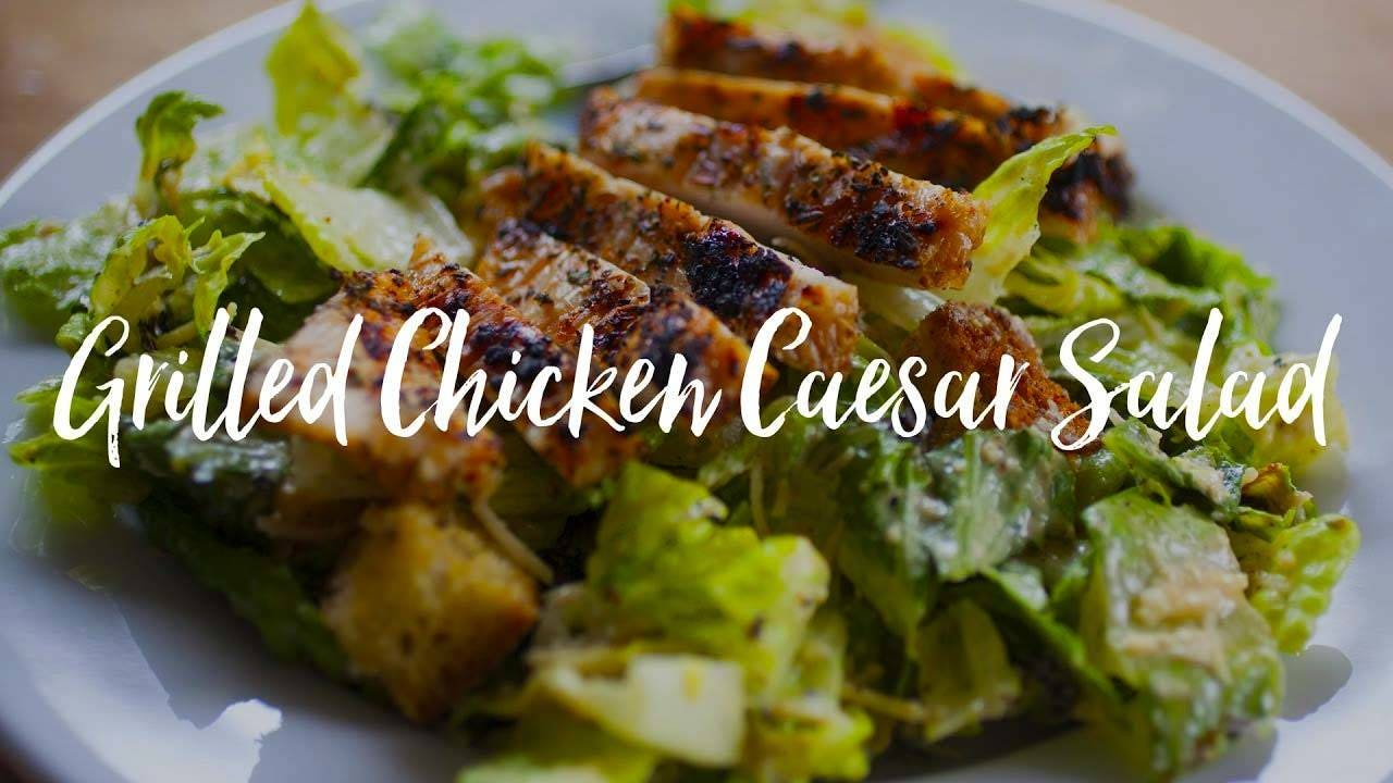 How to make Grilled Chicken Caesar Salad