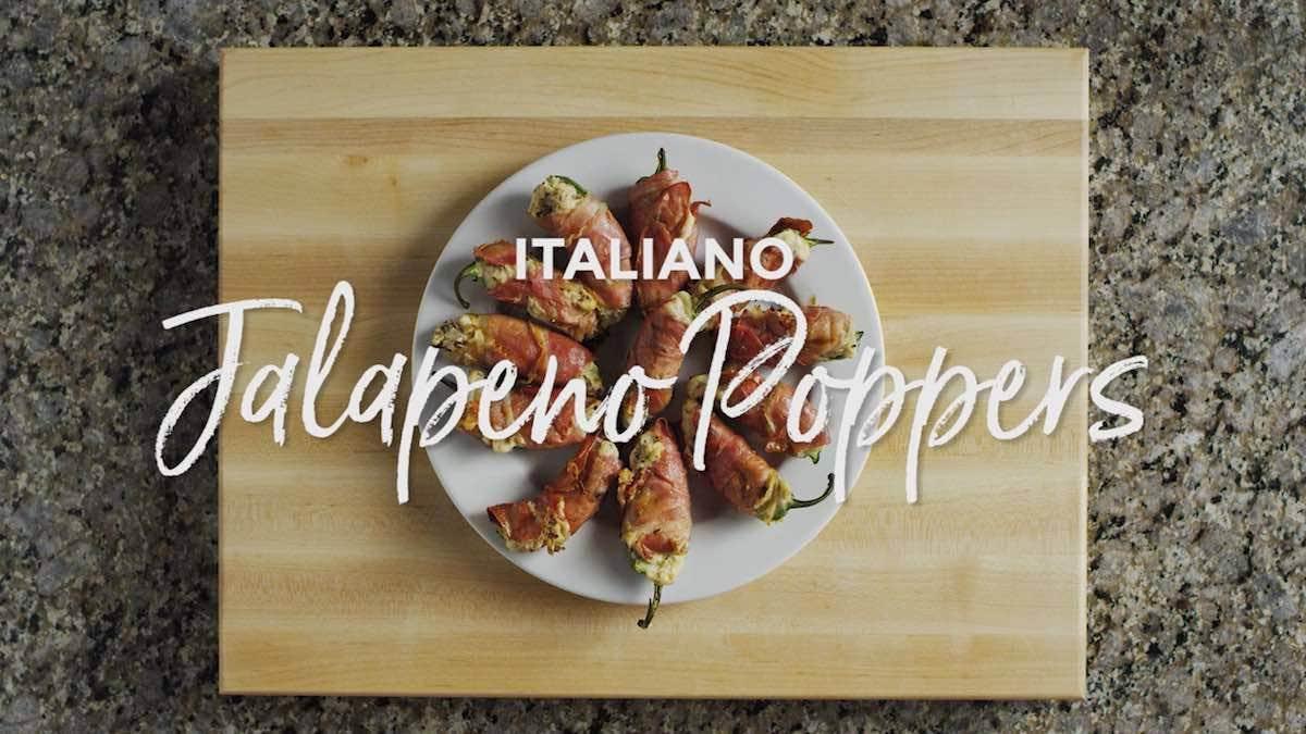 Grilled Italiano Jalapeño Poppers Recipe