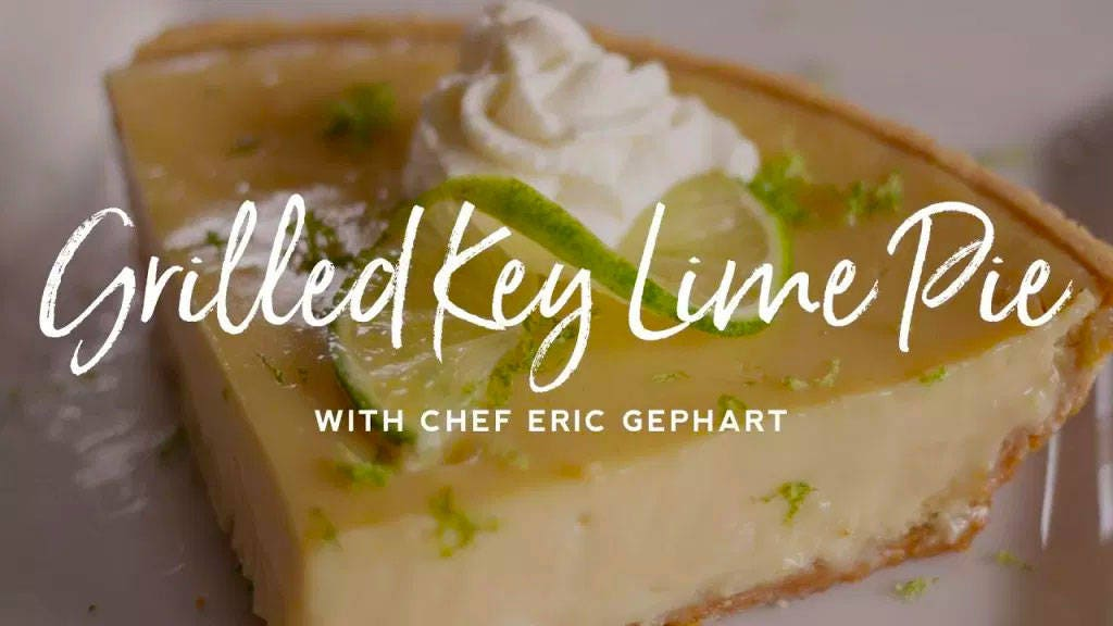 How to make Grilled Key Lime Pie