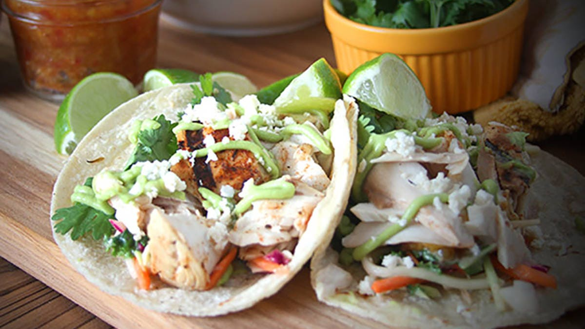 How to make Grilled Mahi Mahi Tacos