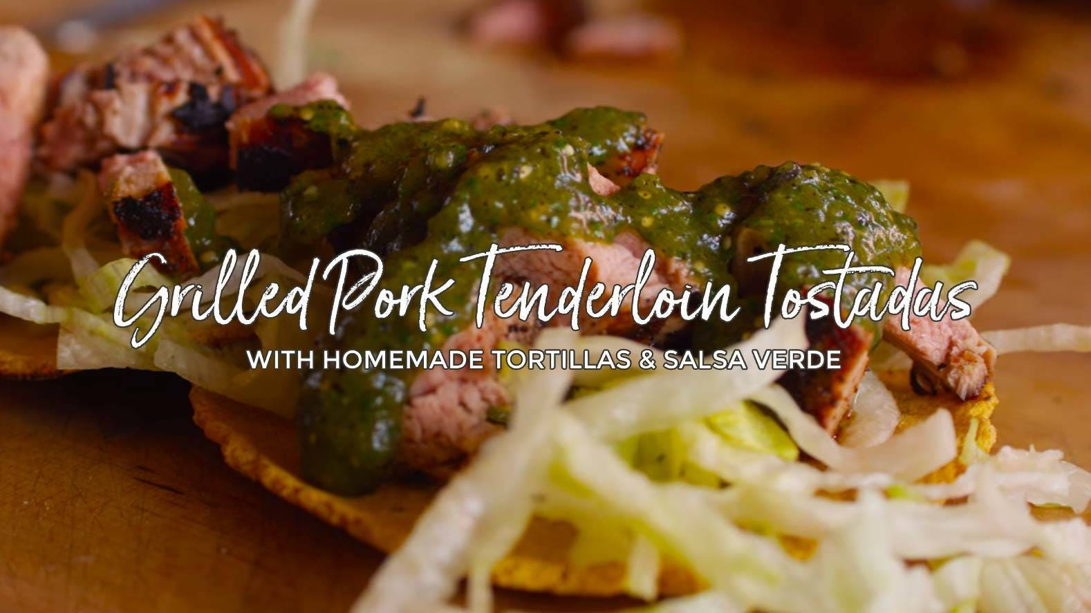 How to make Grilled Pork Tenderloin Tostada