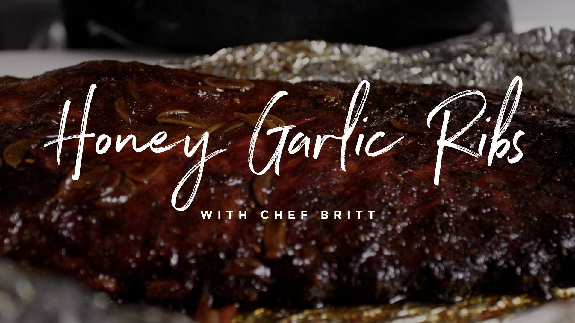 Honey Garlic Ribs Recipe