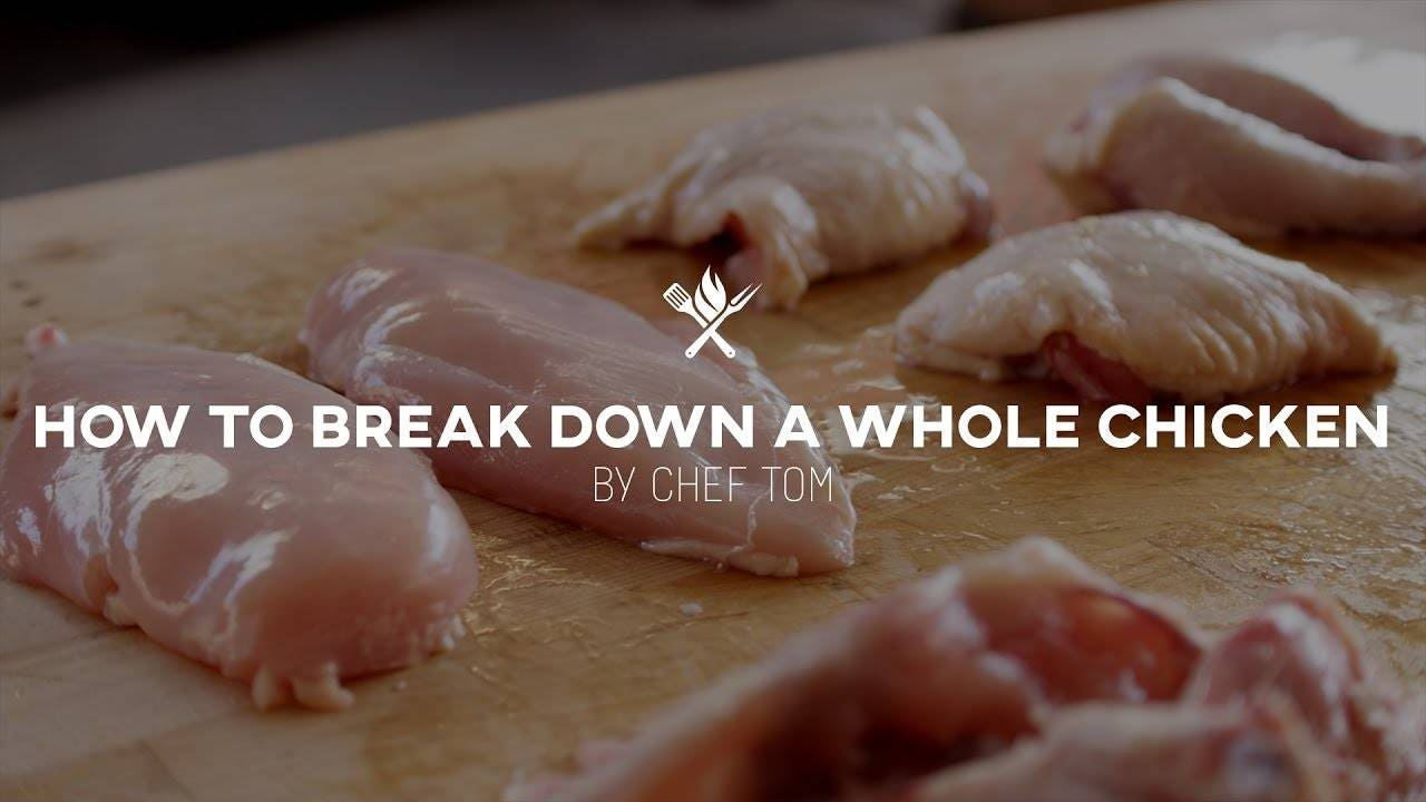 How to Break Down a Whole Chicken