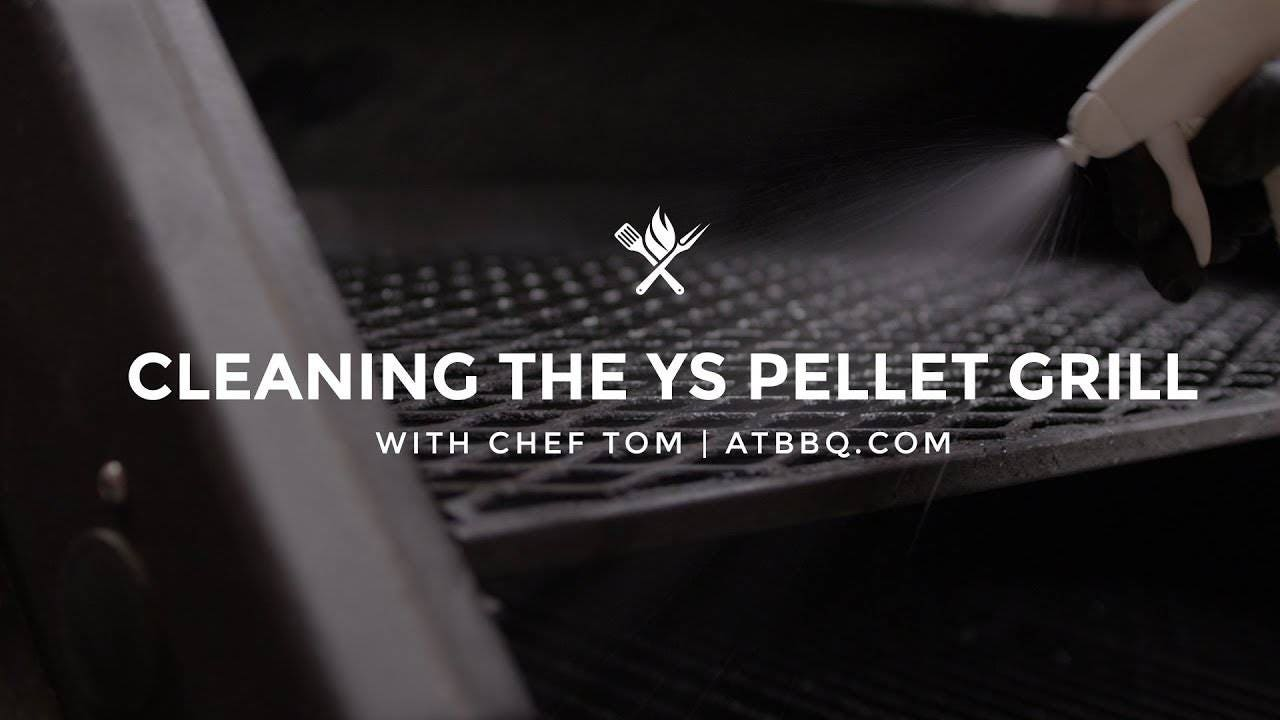Cleaning the Yoder Smokers Pellet Grill