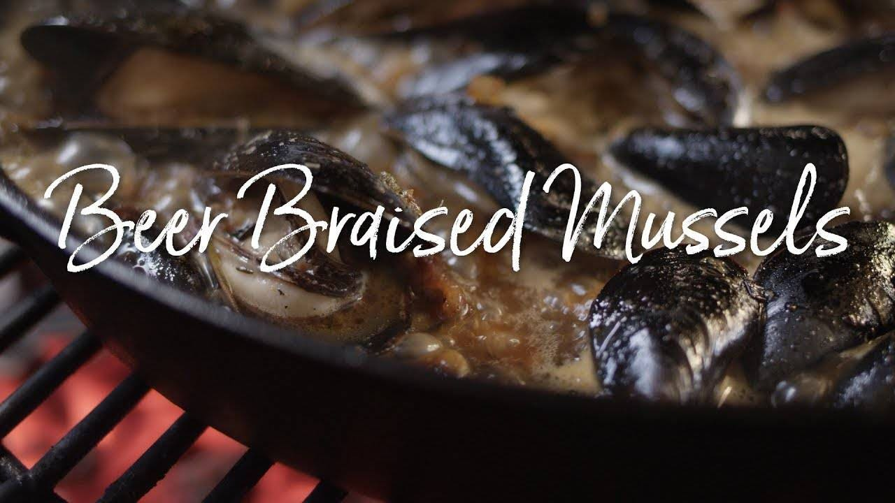 Recipe for Cajun Beer Braised Mussels