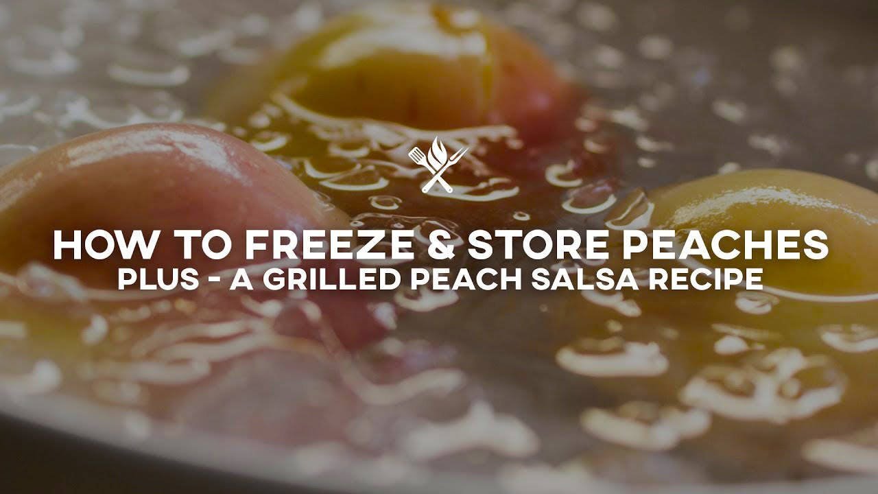 Grilled Peach Salsa Recipe